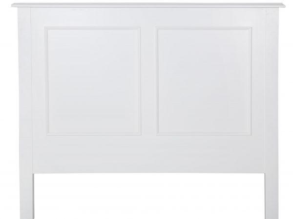 Bastille Headboard Solid White
