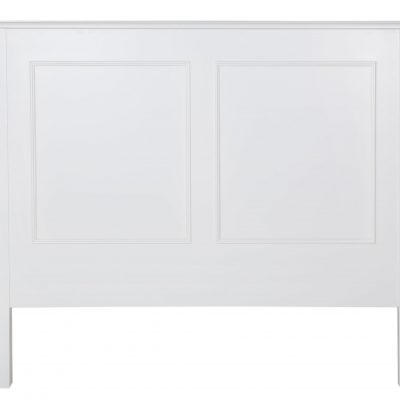 Bastille Headboard Solid White